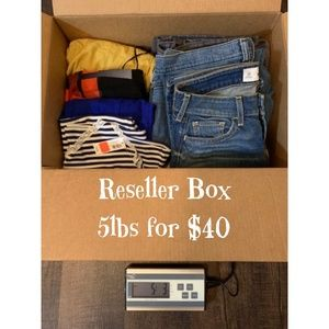 Other - 5 lb Reseller Women's Clothing Box